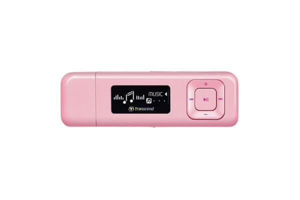 Transcend MP330, 8 GB, černá - II. jakost