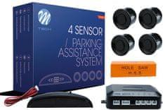 M-Tech parkirni senzorji 4-točkovni z digitalnim zaslonom