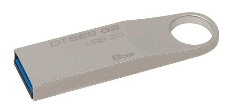 Kingston DataTraveler SE9 G2 8GB / USB 3.0 / Metal (DTSE9G2/8GB)