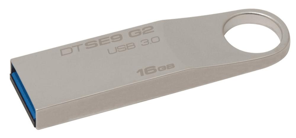 Kingston DataTraveler SE9 G2 16GB / USB 3.0 / Metal (DTSE9G2/16GB)