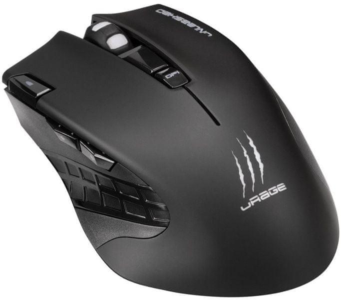 Hama uRage Unleashed bezdrátová gamingová myš (113733)