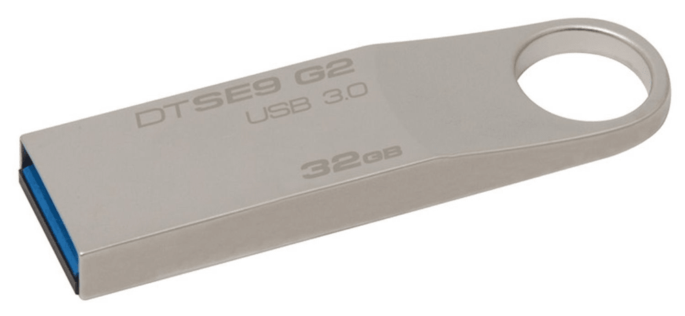 Kingston DataTraveler SE9 G2 32GB / USB 3.0 / Metal (DTSE9G2/32GB)