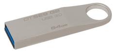 Kingston pendrive SE9 G2 64GB / USB 3.0 / Metal (DTSE9G2/64GB)