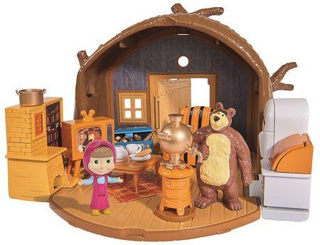 Simba Maša in medved: medvedova hišica