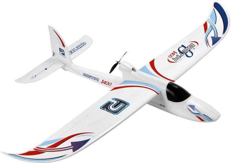 Pelikan letadlo BETA 1400 M1, RTF 4k, 2.4GHz brushless