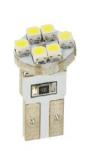 M-Tech žarnica L079 - W5W 6xSMD3528, bela