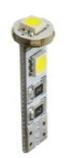 M-Tech žarnica L324 - W5W 3xSMD5050 Canbus, bela