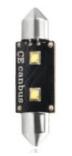 M-Tech žarnica LED L336 - C5W 36mm 6W 12V, Canbus, bela
