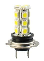 M-Tech žarnica LED H7 18xSMD5050, bela