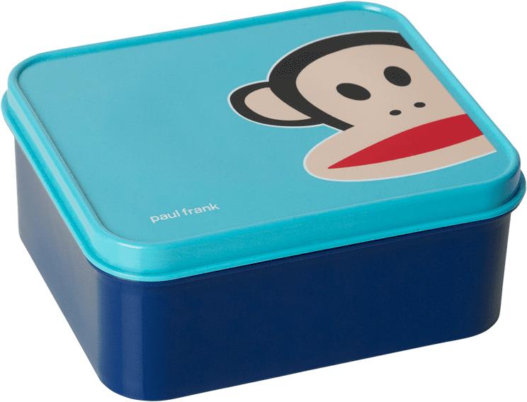 Paul Frank svačinový box modrá