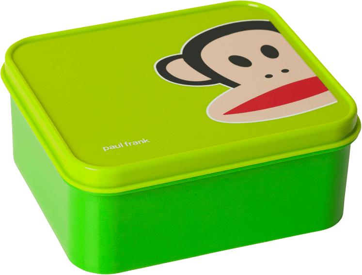 Paul Frank svačinový box zelená