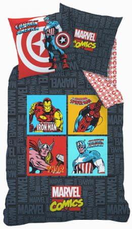 CTI posteljnina, 135 x 200 cm, Marvel junaki