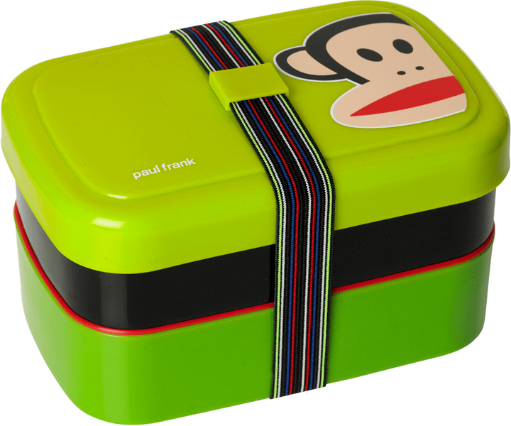 Paul Frank svačinový box Piknik zelená