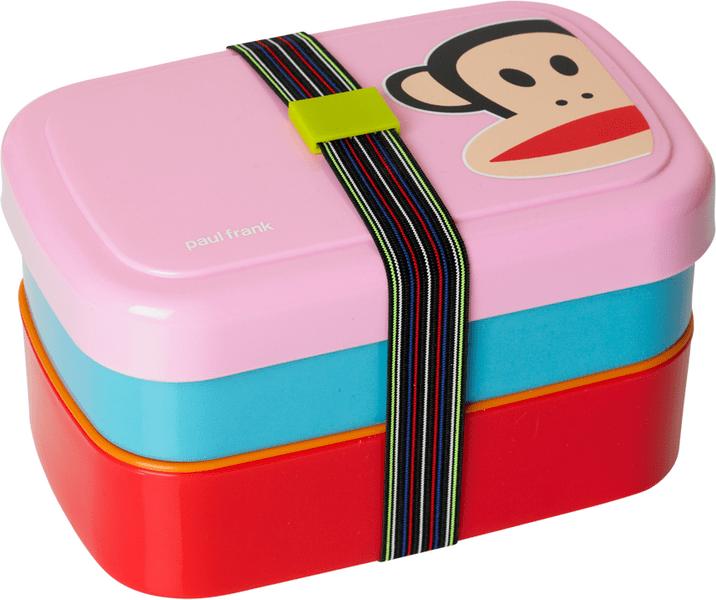 Paul Frank svačinový box Piknik růžová