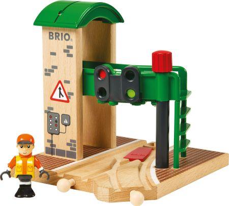 Brio Signálna stanica s výhybkou
