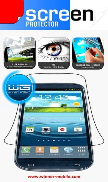 WG ochranná fólie, Samsung Galaxy Trend Lite, S7390 1+1 ks