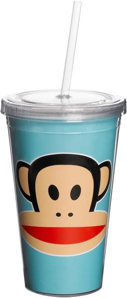 Paul Frank hrnek s brčkem modrá