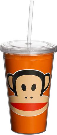 Paul Frank lonček z opico, oranžen