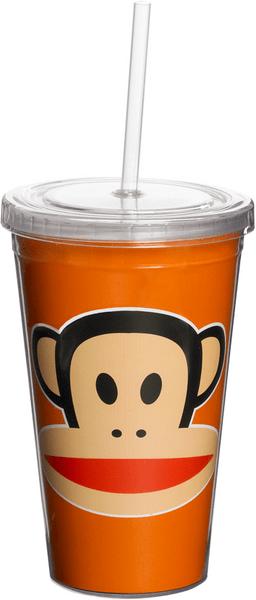 Paul Frank hrnek s brčkem oranžová