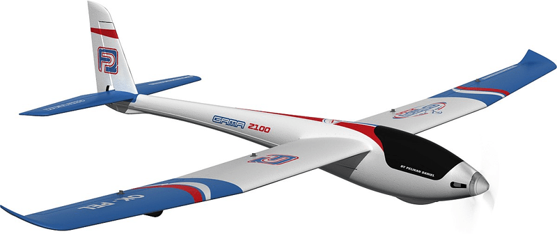Pelikan letadlo Gama 2100 M1, RTF 5k, 2.4GHz brushless