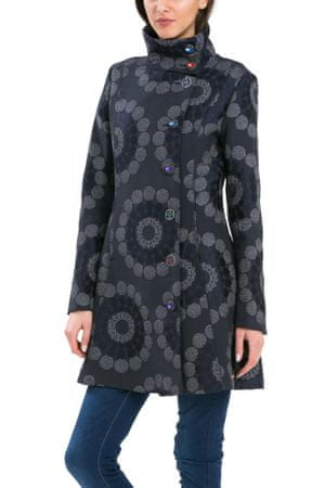 52b1f9fe1b Desigual női kabát 36 kék - Értékelések | MALL.HU
