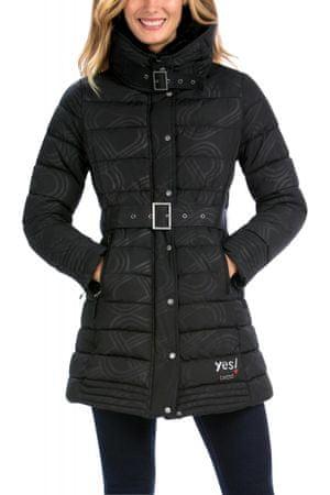 Desigual dámský prošívaný kabát 36 černá  501387a3036
