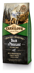 Carnilove Duck & Pheasant for Adult kutyatáp - 12kg