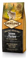 Carnilove Salmon & Turkey for Large Breed Adult kutyatáp - 12kg