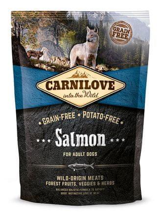 Carnilove Salmon for Adult kutyatáp - 1,5kg