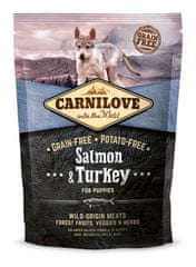 Carnilove Salmon & Turkey for Puppies kutyatáp - 1,5kg