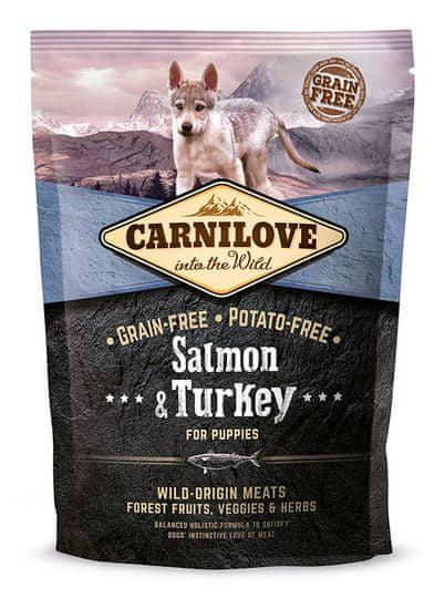 Carnilove Salmon & Turkey for Puppy 1,5kg
