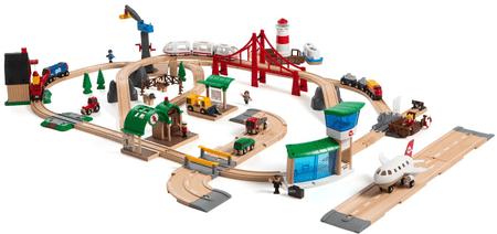 Brio deluxe komplet Železniški svet
