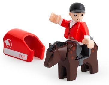 Brio podeželje - konj in jahač - Odprta embalaža