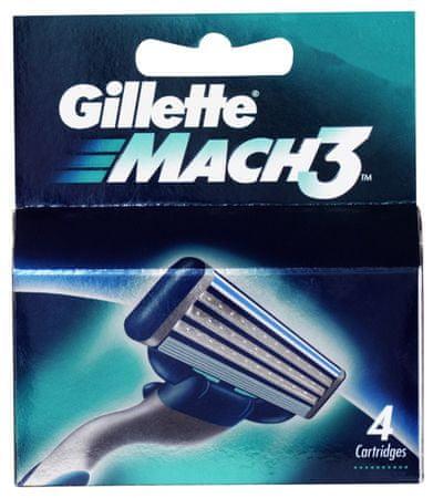 Gillette wkłady do maszynki Mach 3, 4 sztuki