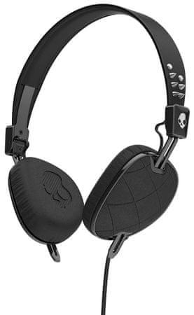 Skullcandy słuchawki Knockout z mikrofonem, czarny