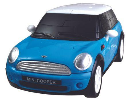 Albi 3D Puzzle niebieski Mini Cooper