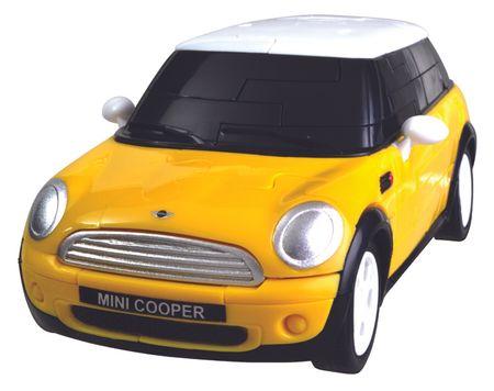 Albi 3D Puzzle auto - MiniCooper žluté
