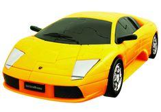 Albi 3D Puzzle auto - Lamborghi žlté