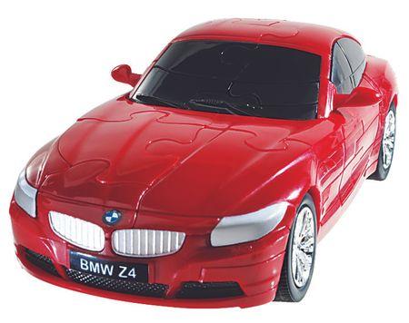 Albi 3D Puzzle auto - BMW Z4 červené