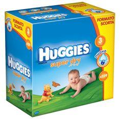Huggies Pieluchy Super Dry Box Midi 3 (4-9 kg) - 129 szt.