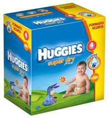 Huggies Pieluchy Super Dry Box Maxi 4 (7-14 kg) - 120 szt.