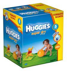 Huggies Pieluchy Super Dry Box Junior 5 (11-19 kg) - 105 szt.
