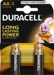 Duracell Basic, AA, 2ks