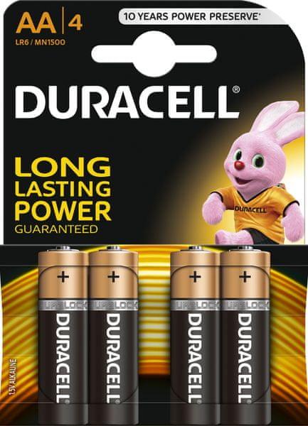 Duracell Basic, AA, 4ks