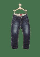 s.Oliver chlapecké lehce vyšisované jeansy
