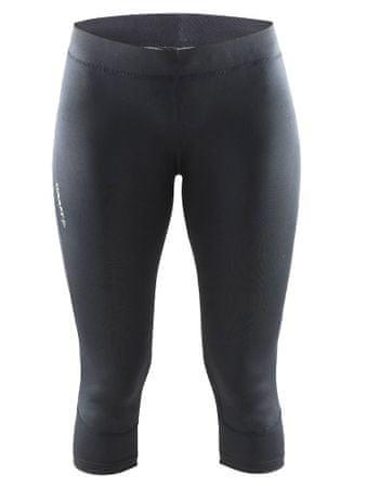 Craft 3/4 hlače Devotion Capri, ženske, črne, XS