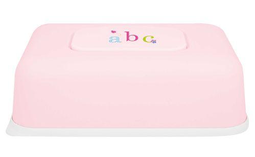 Bebe-jou Box na ubrousky NEW, ABC světle růžový
