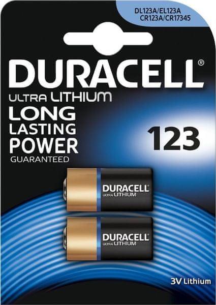 Duracell Ultra, 123, 2ks