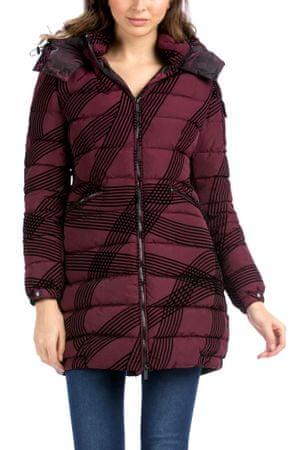 Desigual női kabát 36 bordó  53e9884905