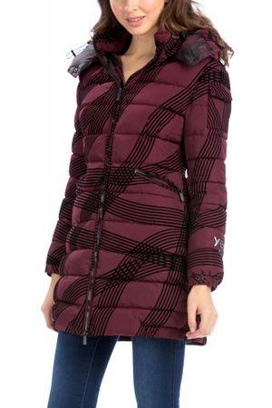 Desigual női kabát 44 bordó  786d0a42e2